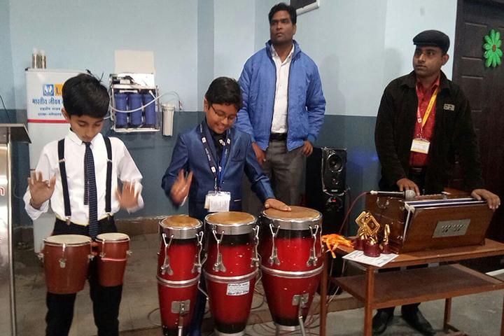 Academic Heights Public School Koriya-Music