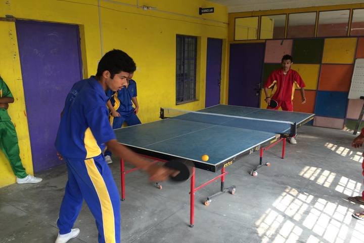 The Heritage School-Indoor Games