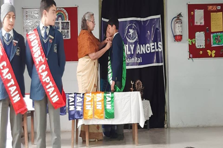 The Holy Angels School-Investiture Ceremony
