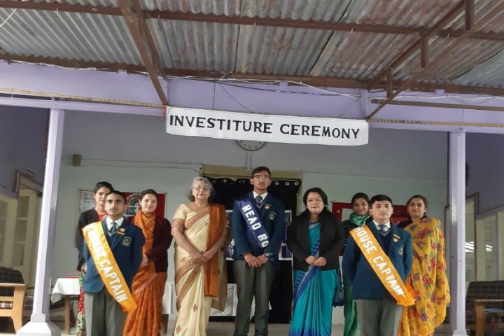The Holy Angels School-Investiture Program