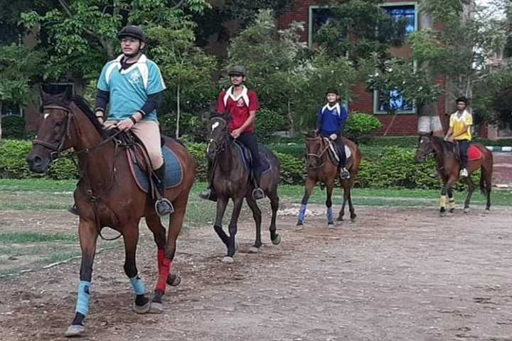 The Indian Public School-Horse Riding Activity