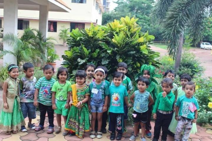 Adarsh Vidyalalya School- Green day celebrations