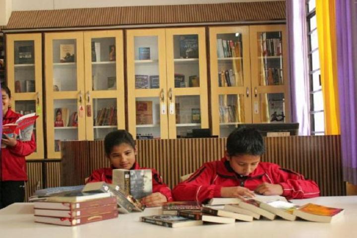 The Shivalik International School-Library