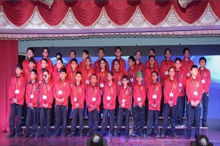The Shivalik International School-Singing Activity