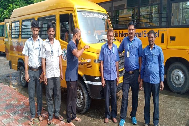 The Shivalik International School-Transportation