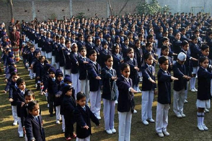 Thomsan World School-Morning Assembly