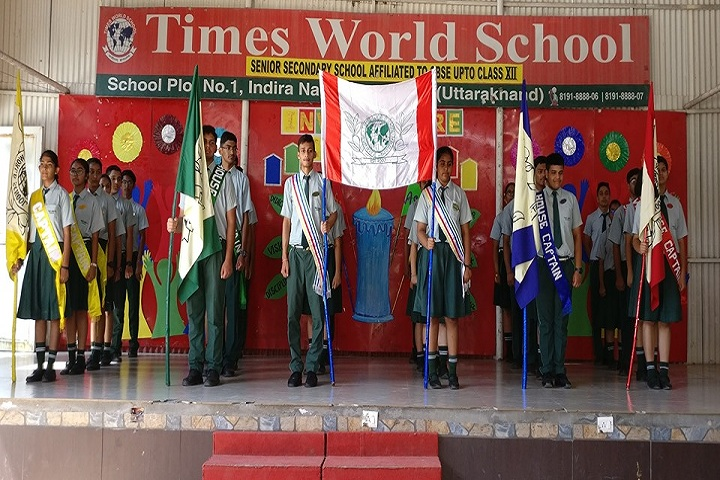 Times World School-Investiture Ceremony