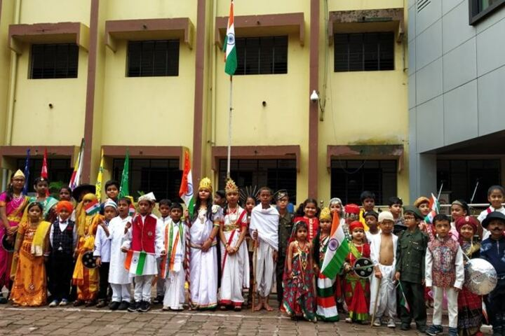 Adarsh Vidyalalya English Medium Higher Secondary School-Indepedence Day