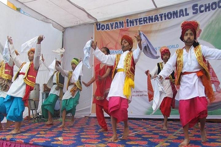 Udayan International School-Dancing Activity