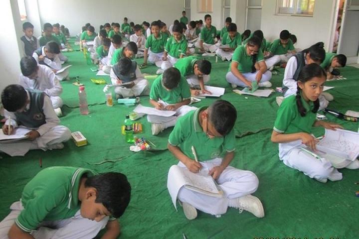 Udayan International School-Drawing Activity