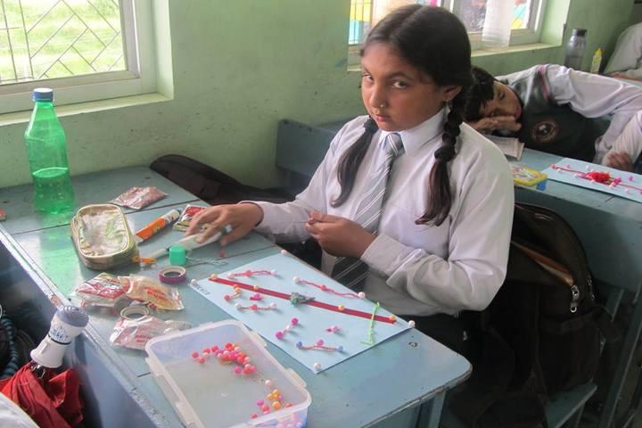 Udayan International School-Rakhi Making Activity