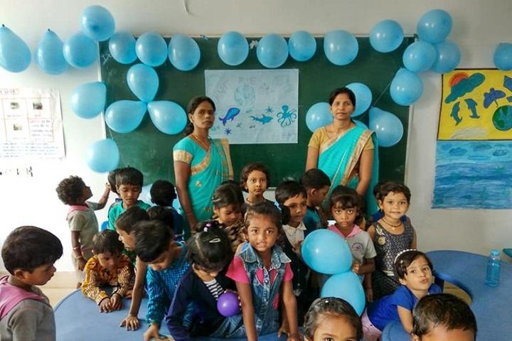 Adeshwar Public School Bastar-Blue Day