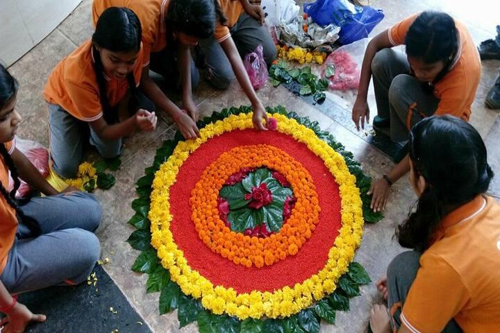 Adeshwar Public School Bastar-Floral Competition
