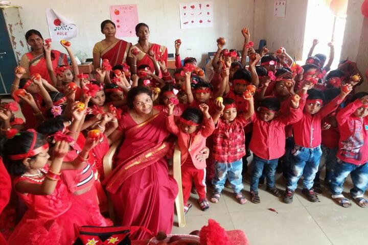 Adeshwar Public School Bastar-Red Day
