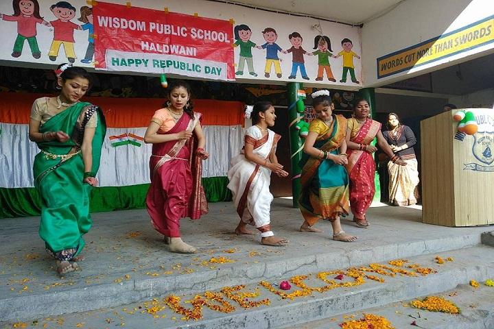 Wisdom Public School-Dancing Activity