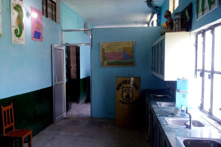 Wisdom Public School-Laboratory