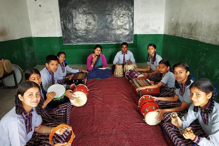 Wisdom Public School-Music Room