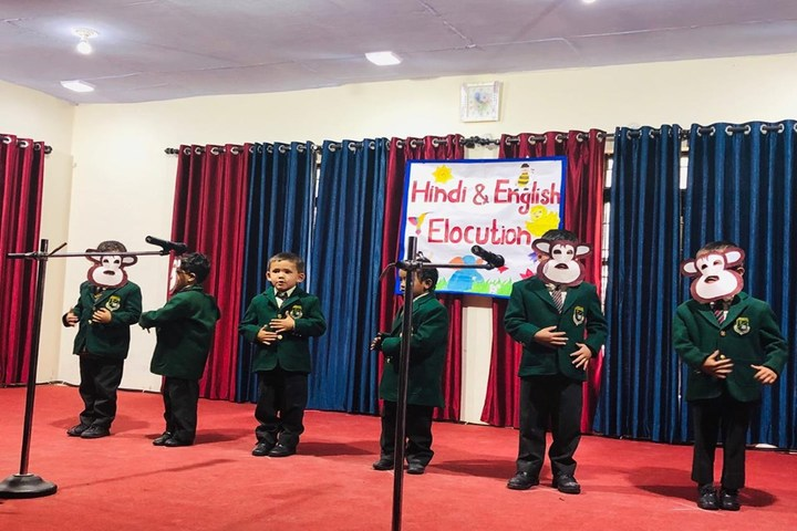 WoodBridge School-Hindi Elocution