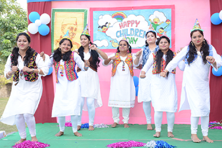 Adamas World School-Children's day
