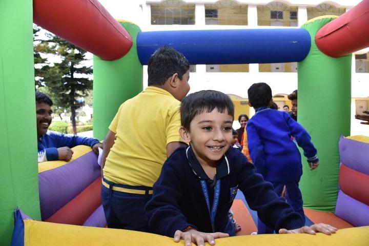 Aditya Academy Secondary-KG play area