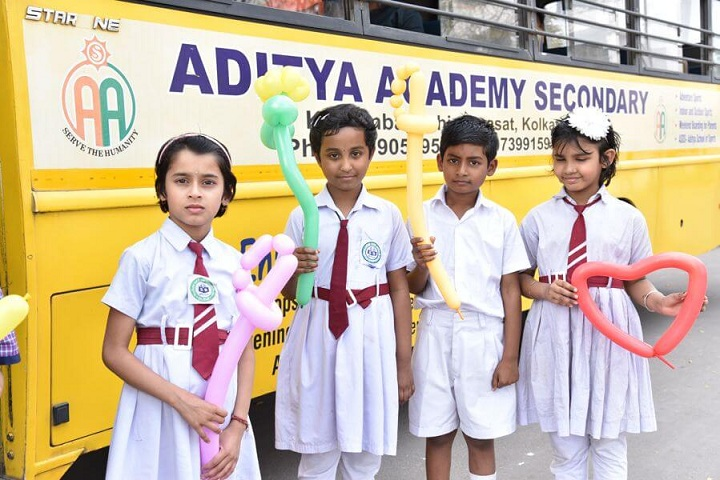 Aditya Academy Secondary-Bus Transport