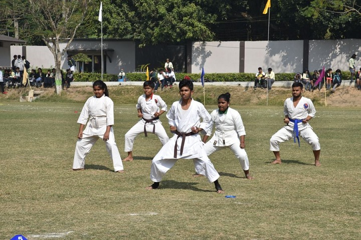 Aditya Academy Secondary-karate