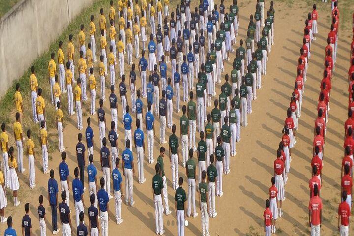 Akshar The School-Assembly Ground