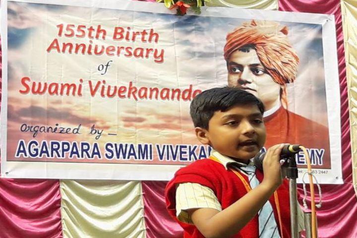 Agarpara Swami Vivekananda Academy-Speech