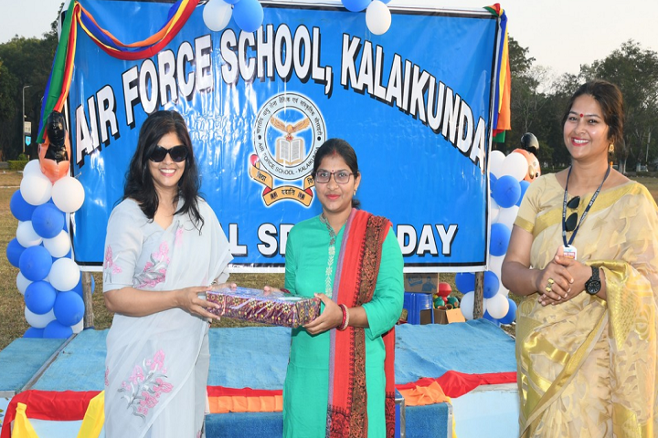 Air Force School-Prize