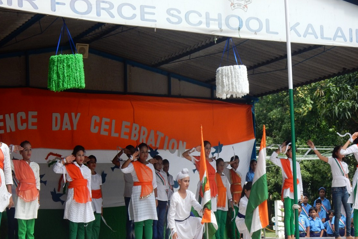Air Force School-Republic Day