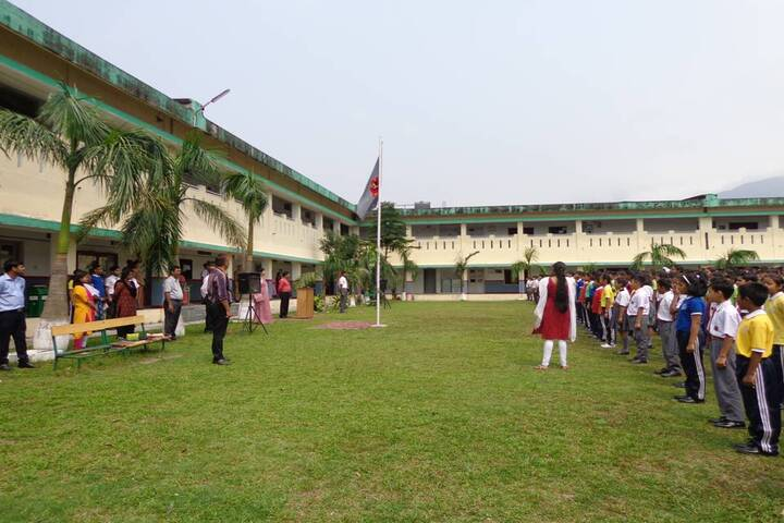 Army Public School-Flag Hosting