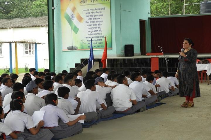 Army Public School-Workshop on Art of Living