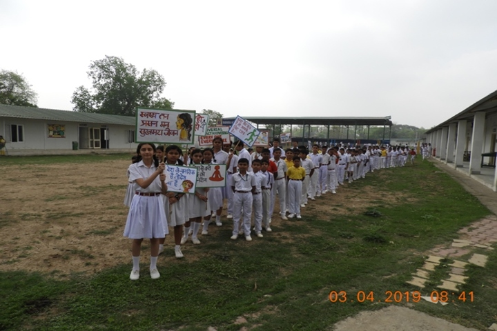 Army Public School-World Health Day