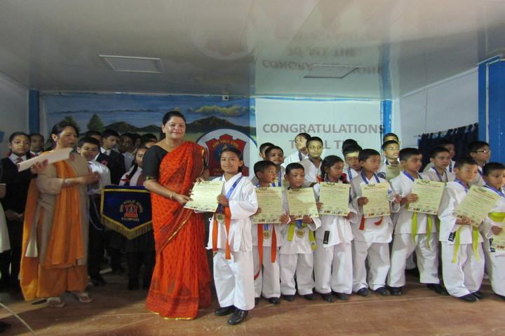 Army Public School-Karate Achievements