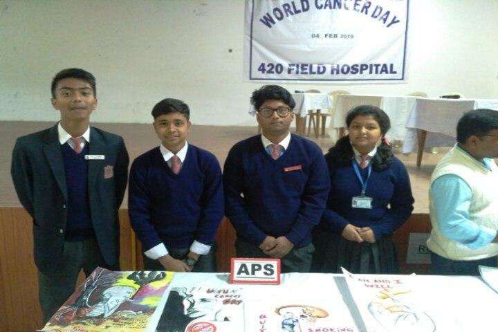 Army Public School-Cancer Day