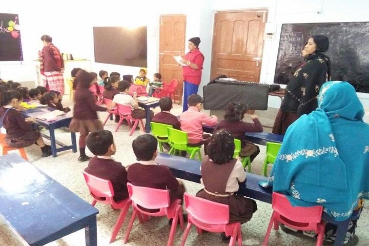 B S S Central Public School-Children Classroom