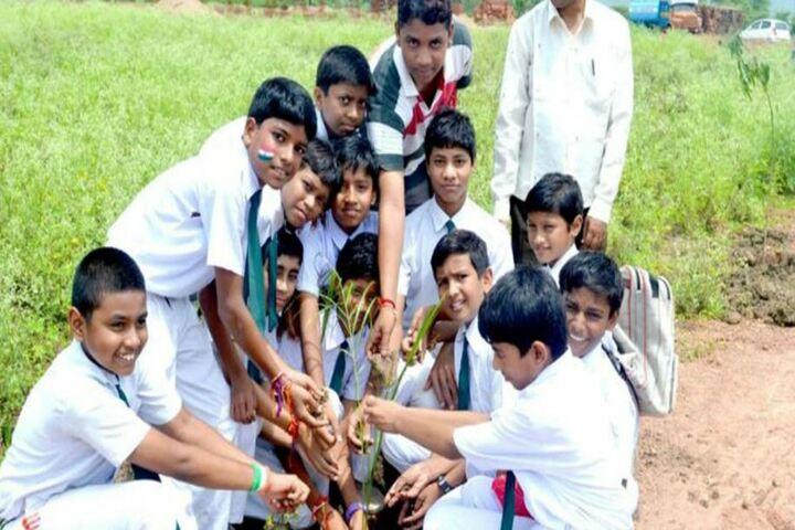 Ambition Public School-Planting