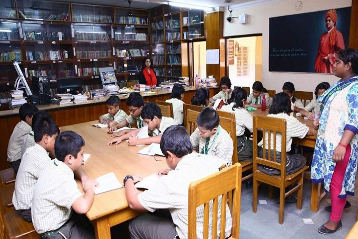 Barasat Indira Gandhi Memorial High School-Library