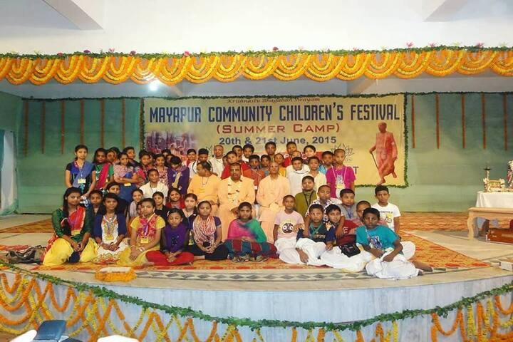 Bhaktivedanta National School-Childrens Day Celebrations
