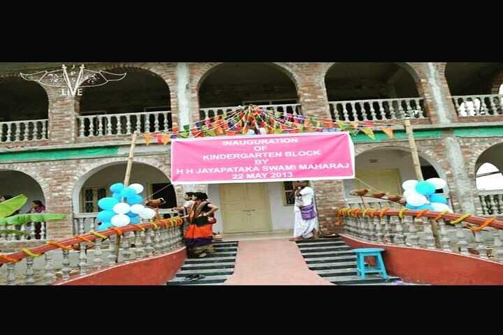 Bhaktivedanta National School-Inauguration of Kindergarten Block
