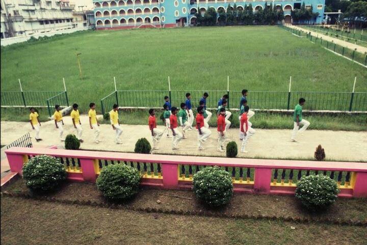 Bhaktivedanta National School-March Past