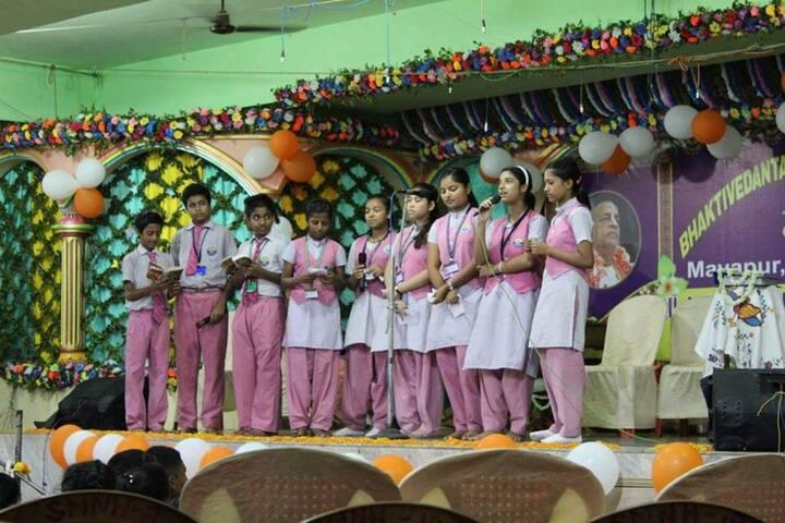 Bhaktivedanta National School-Singing