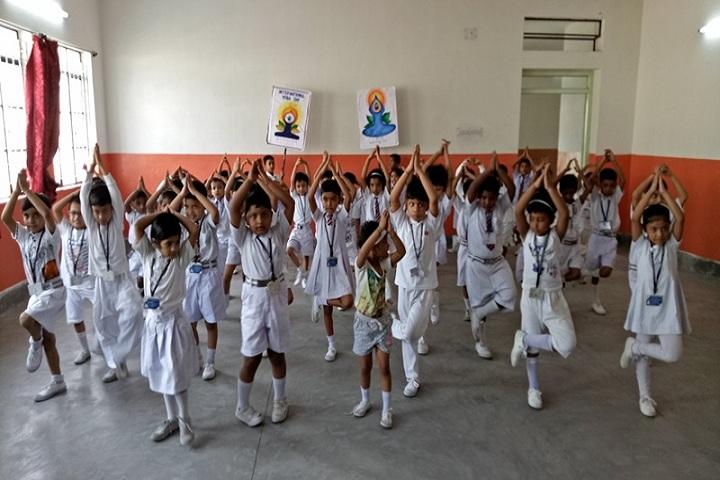 Burnpur Riverside School-Yoga