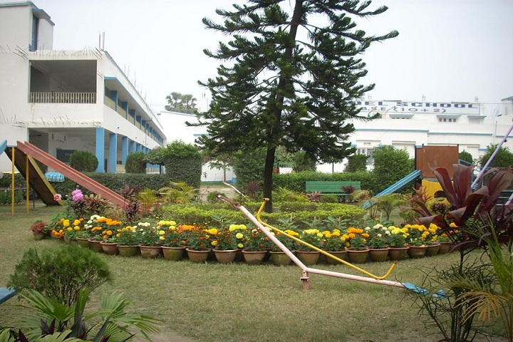 Central Model School-Campus View