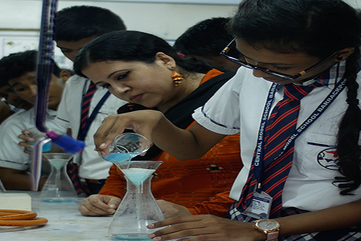 Central Model School-Chemistry Lab