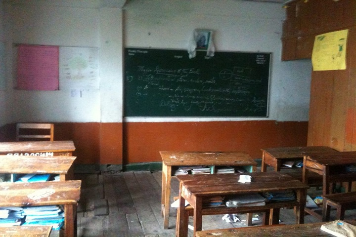 Central School For Tibetans-Classroom