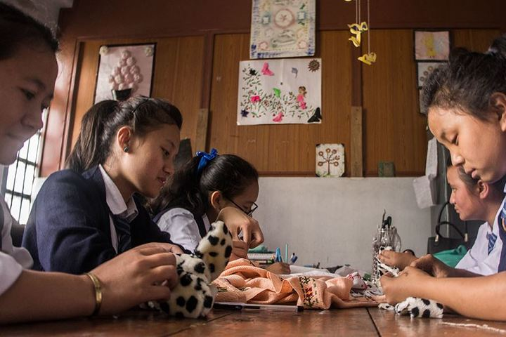 Central School For Tibetans-Crafts