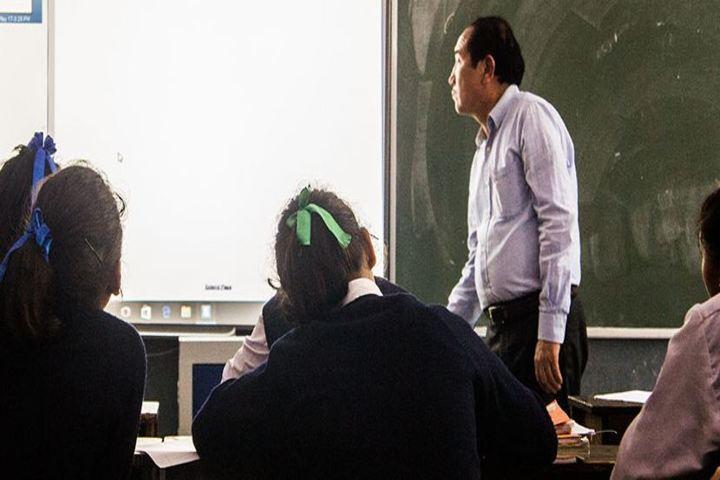 Central School For Tibetans-Classroom