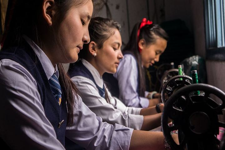 Central School For Tibetans-Designing Class