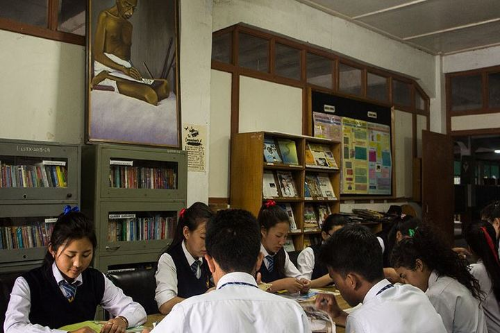 Central School For Tibetans-Library